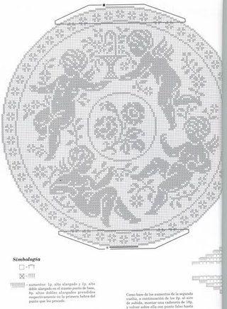 lo spazio di lilla: Angioletti a filet / Crochet filet angels