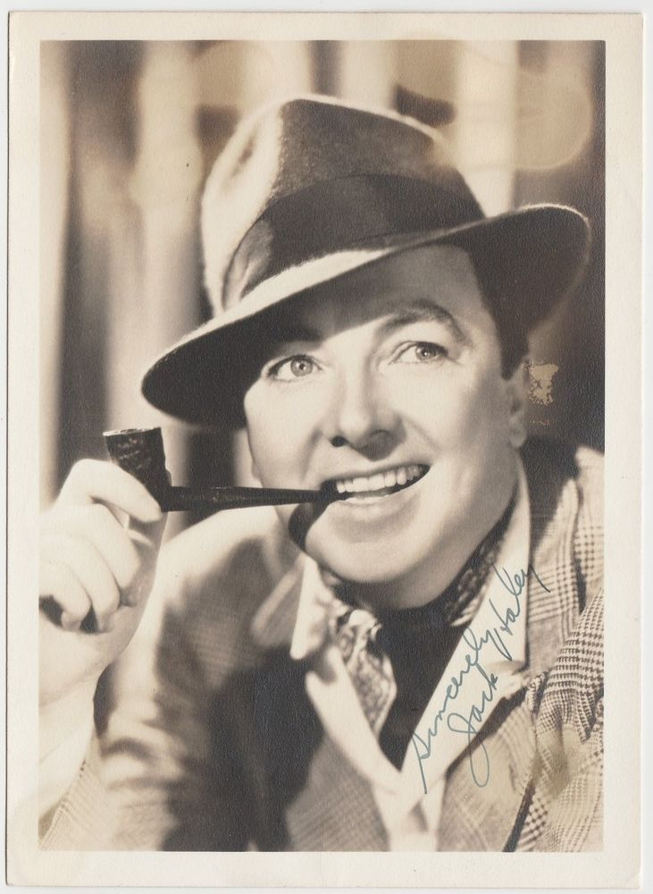 Jack Haley Movie Star Autograph - Signed 5x7 Fan Photo - Wizard of Oz Tin Man