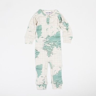 Long Leg Body Map: Made of organic cotton. For the youngest citizens of the world.  #Babies #Onesies #Body_Map