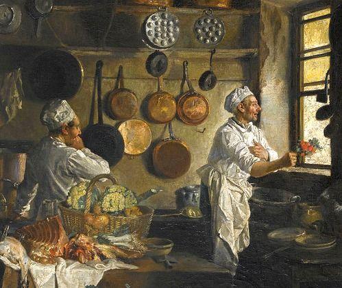 196 best historical kitchens images on pinterest painting art 17th century and 19th century - 17th century french cuisine ...
