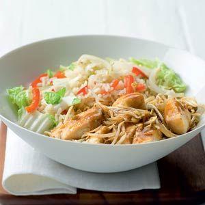 Recept - Tilapia paniki met gebakken rijst - Allerhande