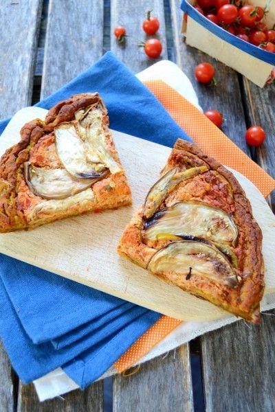 Quiche pizza pâte à la patate douce vegan sans gluten