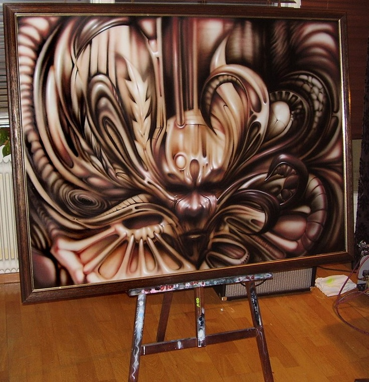 Fantastic airbrush art!