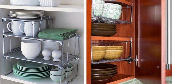 Kleine Küche einrichten: Regale pimpen