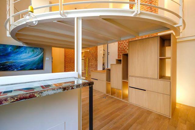 Arte Silvia Senna: Loft in centro a Milano progetto dell' Architetto Matteo Gattoni