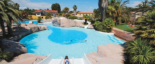 La Sirene Campsite - Located just 2km from a great sandy beach at Argeles sur Mer, La Sirene is a large, attractive family run campsite with superb facilities and activities.