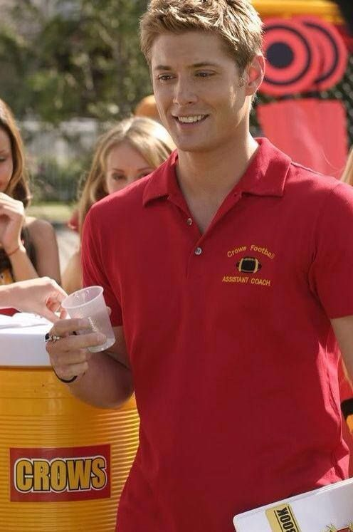 Dean Winchester as a football coach... {Jensen Ackles in Smallville}