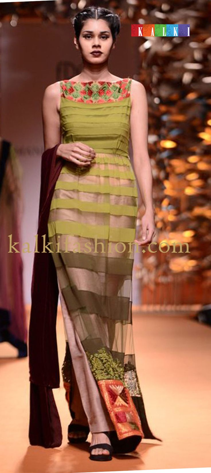 http://www.kalkifashion.com/designers/manish-malhotra.html  embroidered-yoke-olive-green-anarkali-suit