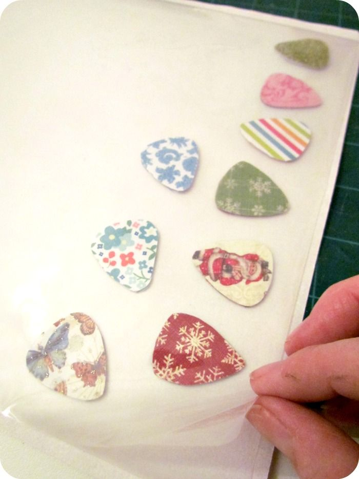 Etcetorize: DIY Guitar Picks