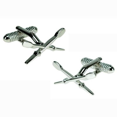 These rowing oars are in tribute to today's Olympic event. #rio #OlympicGames #sports #cufflinks #jewelry
