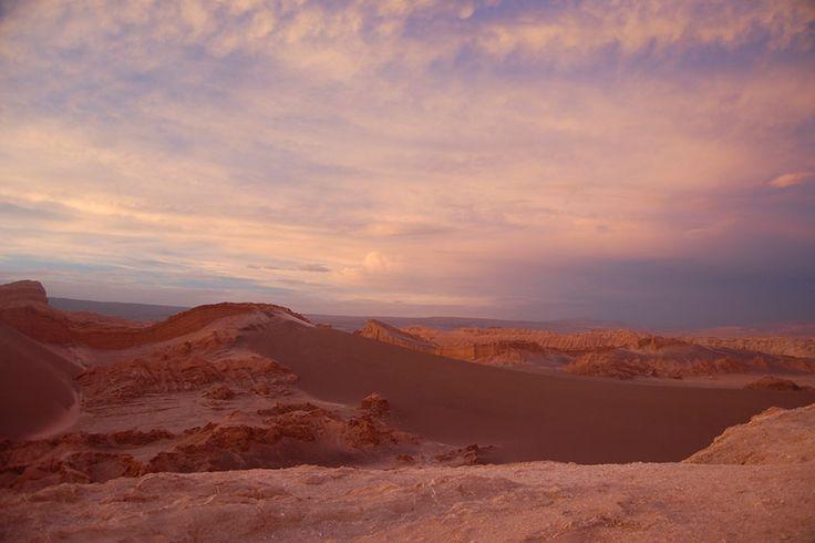 Chile Fotos Valle Luna