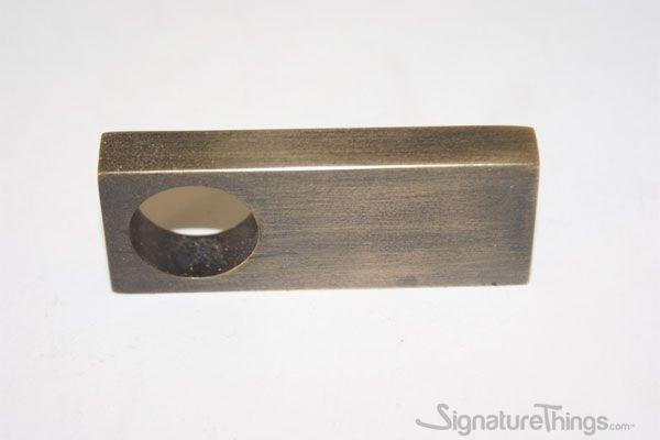 21 00 Rectangular Brass Finger Pull Closet Cabinet Pulls Drawer Handles Brass Cabinet Hardware Brass Door Handles Brass Drawer Pulls