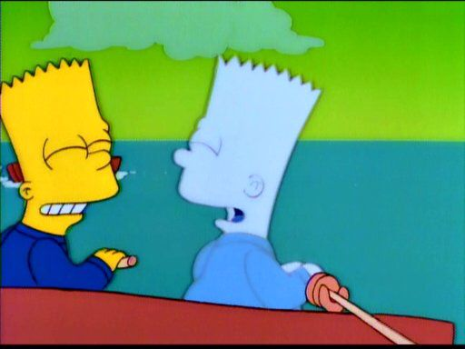 """""""Bart Sells His Soul"""" this has be one of the most haunting and the only episode which shows a crueller side to Milhouse. When Bart sells his soul to Milhouse he becomes spiritually paranoid and wants it returned to him."""