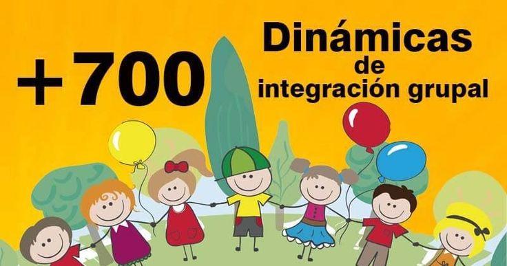 Más de 700 dinámicas en pdf para la integración grupal. Educación. Integración. Convivencia. Dinámicas de grupo.