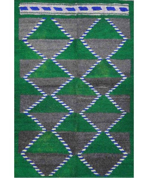 "Old Konya-tulu Rug KON-064-Design# 375, Size- 3'-9"" X 5'-5"" #carpet #rugs #flooring #office #home #decoration #bedroom #livingroom #diy #handmade #best #cleaning #modern #design #runner #print"