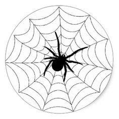 Design web preto da aranha do Dia das Bruxas Adesivo                                                                                                                                                                                 Mais