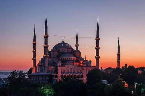 Sultanahmet Mosque at Sunset | Flickr - Photo Sharing!