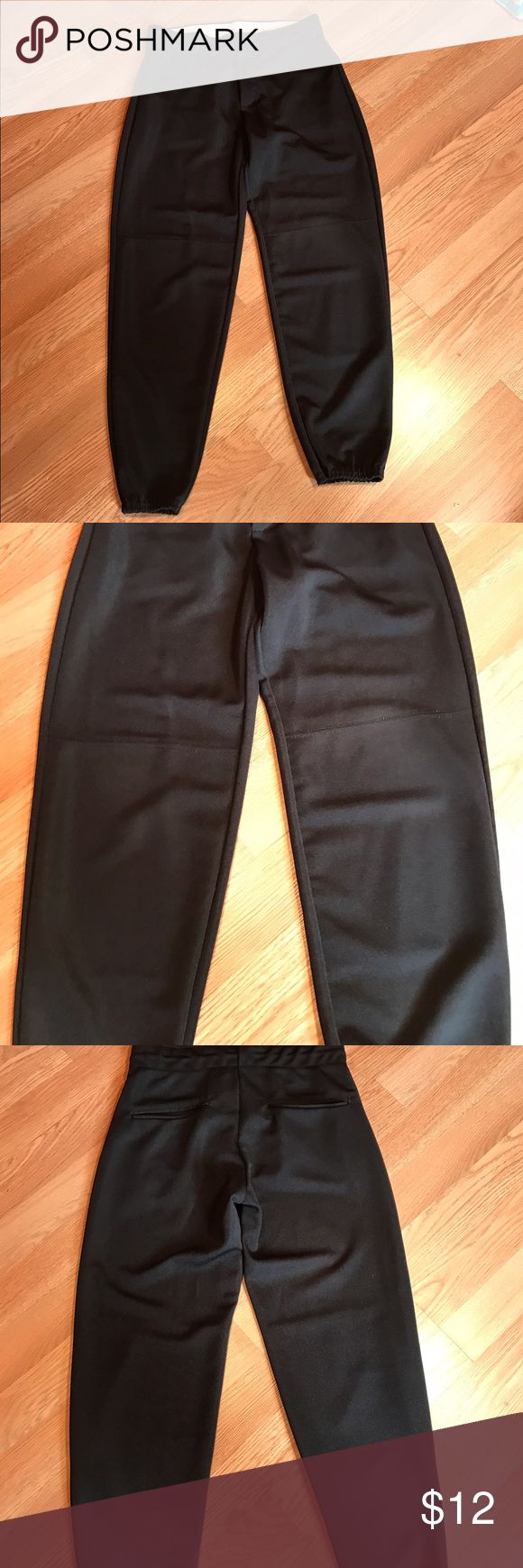 Augusta Sportswear Ladies Softball Pant Great condition. Black. Size small Pants