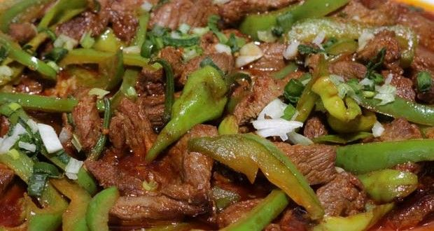 Rajhistani beef with chili By Shireen Anwar