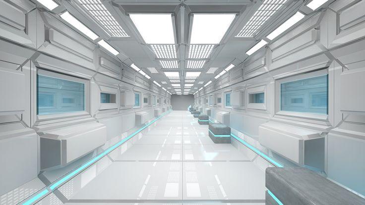 Interior Design | Futuristic Lab