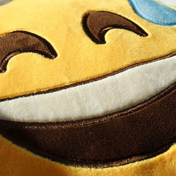 EMOJI CACA forme émoticône Binette OREILLER COUSSIN farcies Poupée peluche jouet