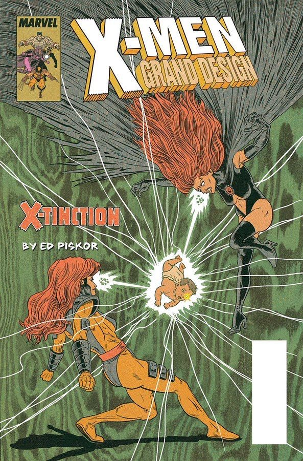 X Men Grand Design Cover Art By Ed Piskor Grand Designs X Men Variant Covers