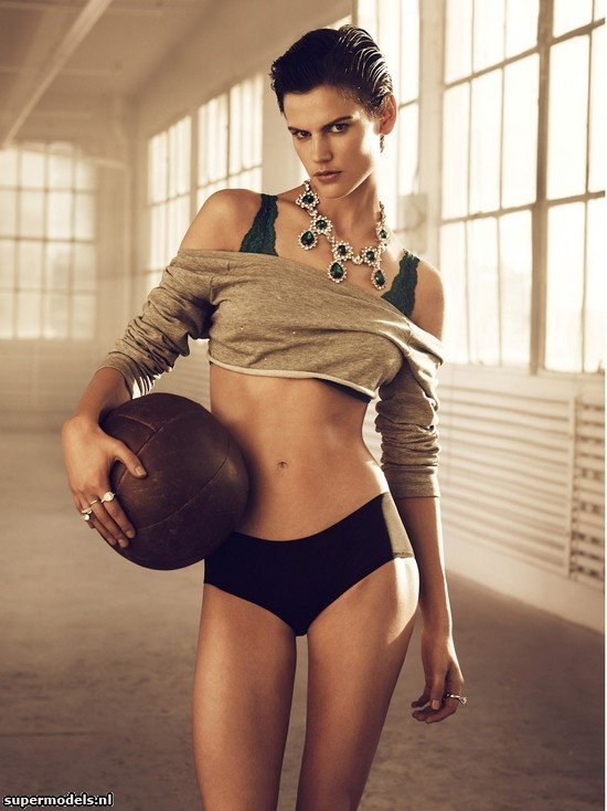 Saskia de Brauw in 'Let's Get Physical' - Photographed by Lachlan Bailey (H Magazine Fall 2012)    Complete shoot after the click...
