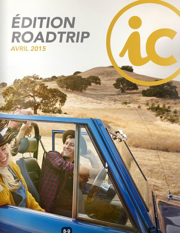 Avril 2015 #intercom #magazine #étudiant #roadtrip #voyage