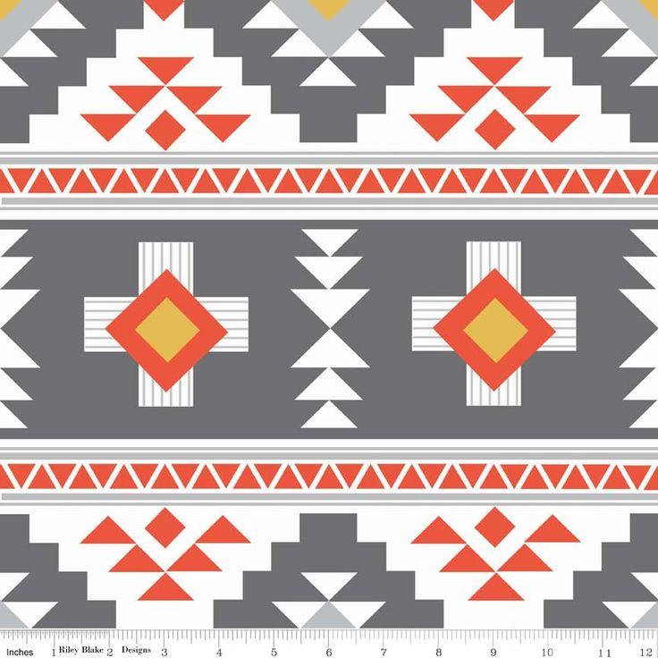 Riley Blake Designs: C4870-GRAY