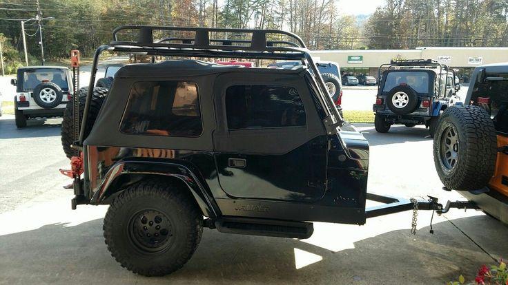 Jeep Camper Trailer