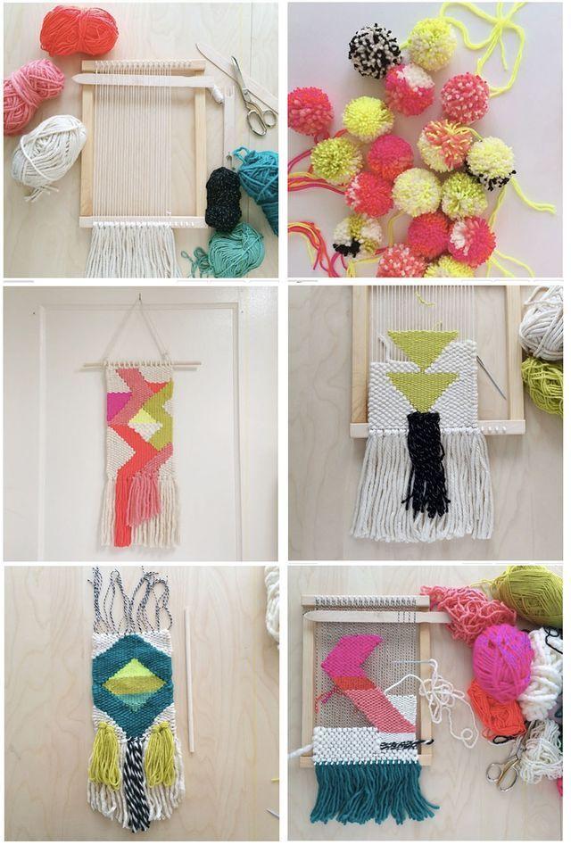 Weavings by Rachel Denbow
