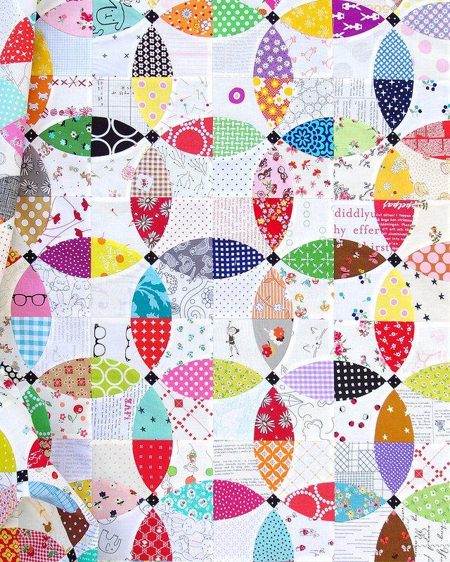 Flowering Snowball Quilt 2 | Red Pepper Quilts | Bloglovin'