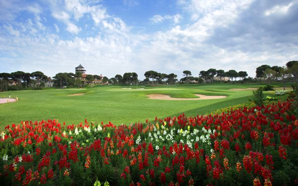 The Montgomerie Course in Belek, Turkey - potential host course for 2022 Ryder Cup and 2013 Turkish Open