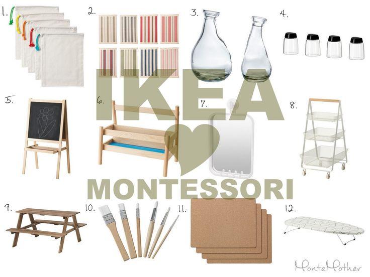 Ikea ❤ Montessori