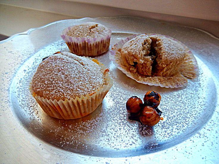 Les Delices d' Eleni: Νηστίσιμα/vegan μάφιν με γάλα φουντουκιού / Fastin...
