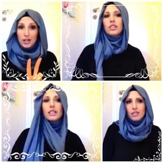 Tutorial Hijab Inspiration from Muslimah Turkish