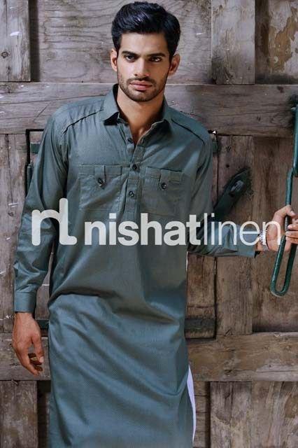 Exclusive Kurta Shalwar Collection 2014 For Men (13)