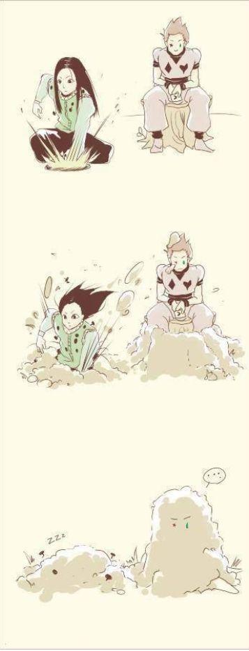 Illumi & Isoka funny scene