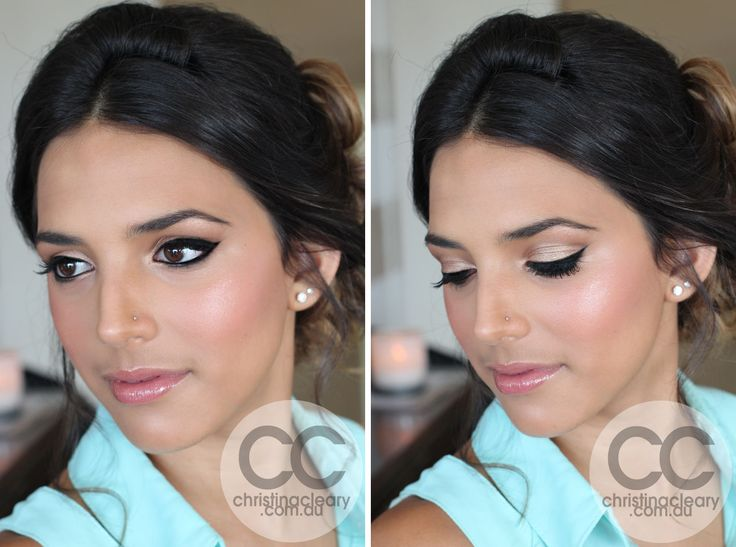 Wedding Makeup Ideas For Brunettes : Wedding Makeup Looks For Brunettes With Brown Eyes ...