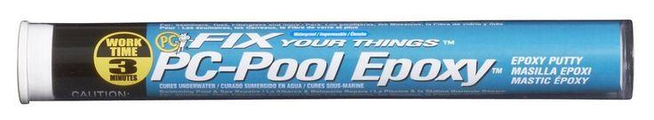 Pool Putty Moldable Epoxy 4 oz Stick Off-White