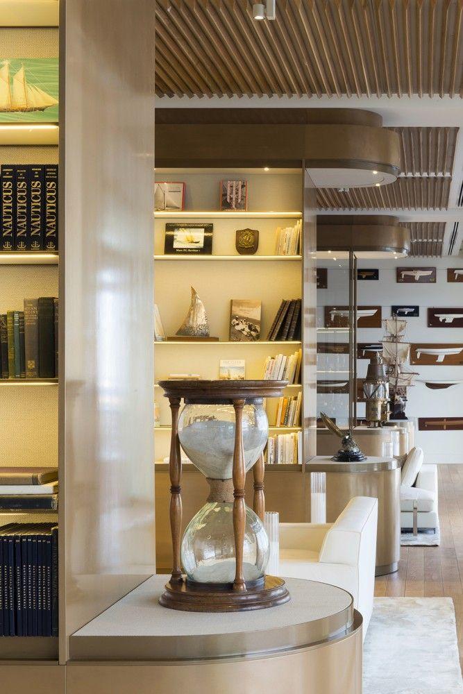 Gallery of Yacht Club de Monaco / Foster + Partners - 15. Luxury Yacht  InteriorFrench InteriorsDesign ...
