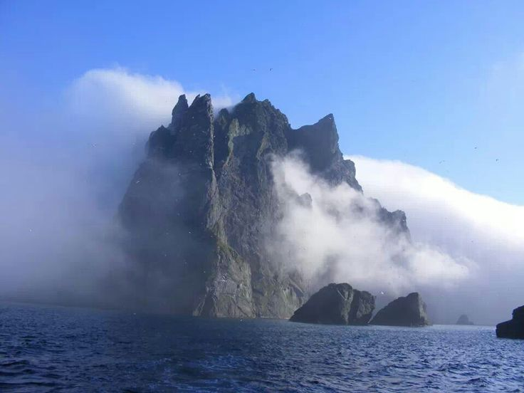 St Kilda, off the north-west coast of Scotland