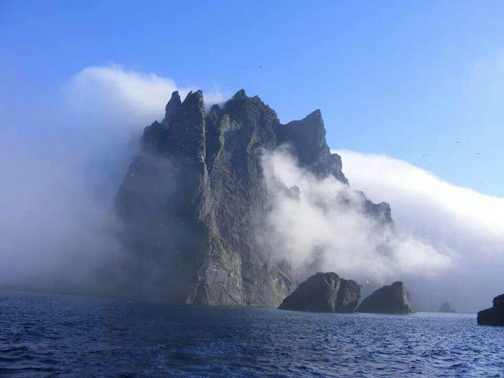 St Kilda, off the north-west coast of Scotland