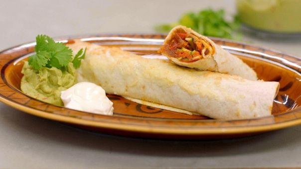Vegetarische enchilada's MIEKE