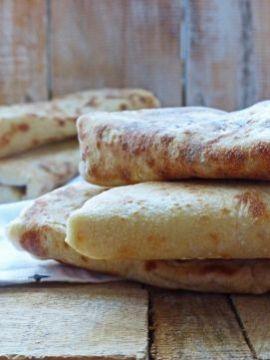 Eenmaal zelf flatbreads gemaakt is voor eeuwig verpest voor supermarkt pittabroodjes