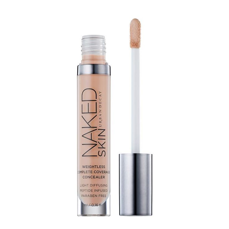 Naked Skin in color Light Neutral - This is only a 2 on the Skin Deep Database! But it still has a couple nasty ingredients I'm not thrilled with (PEGs & 3 rated ingredients). I rarely use undereye concealer tho, so I might stick with it.