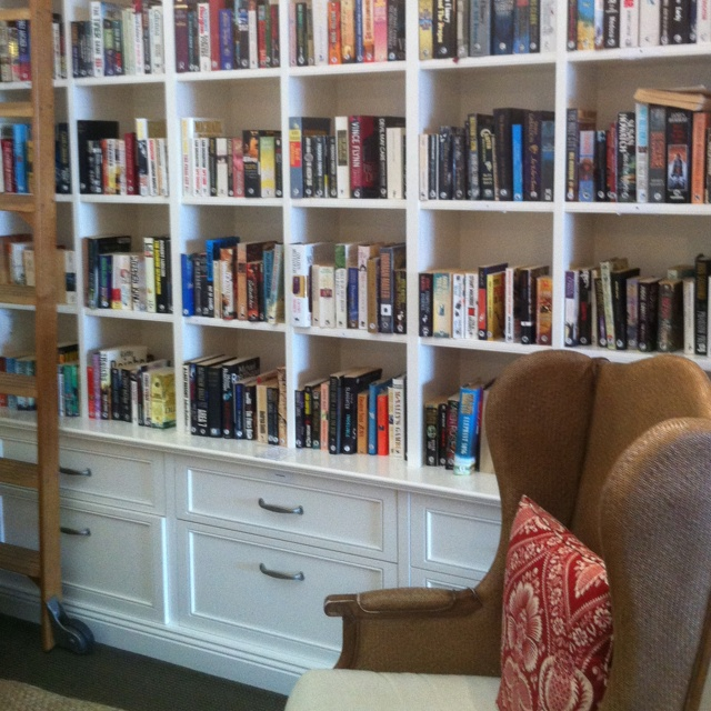 custom made bookshelves at Breakfast Point Country Club