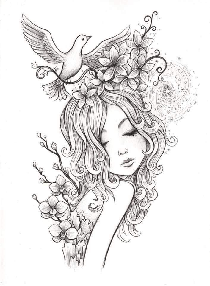 Pin By Lin Mason On Tattoo Ideas Coloring Pages Coloring Books Adult Coloring
