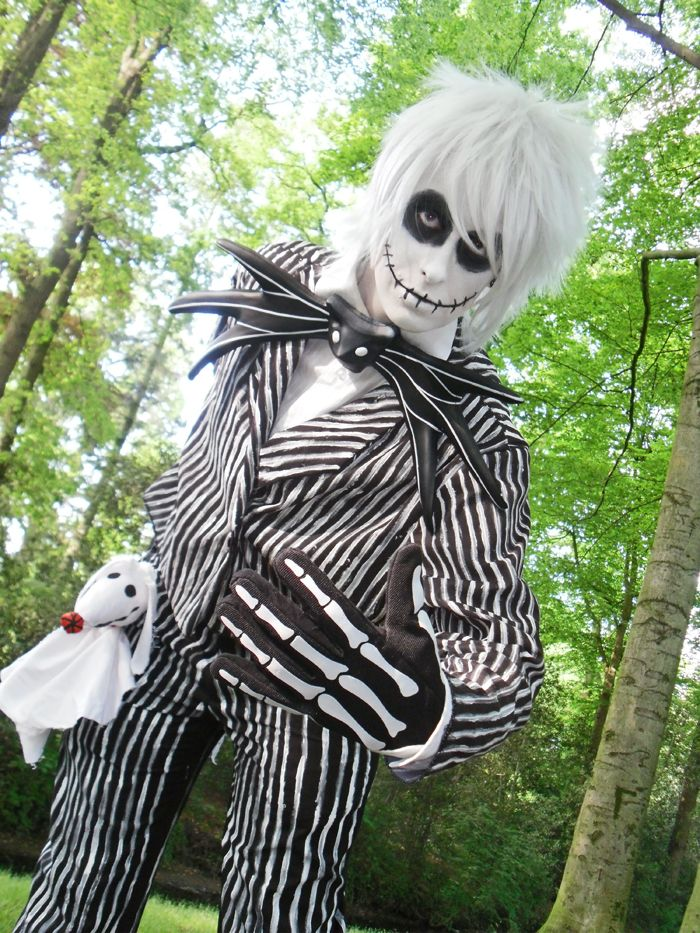 2014 halloween jack skellington nightmare before christmas makeup face painting skull halloween makeup costumes - Halloween Jack Costume