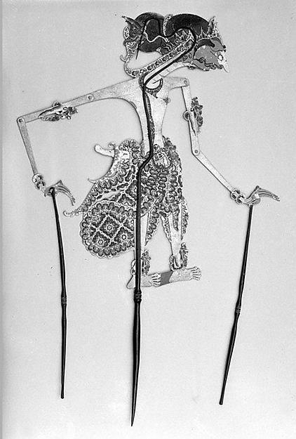 Shadow Puppet (Wayang Kulit)   Javanese   The Met